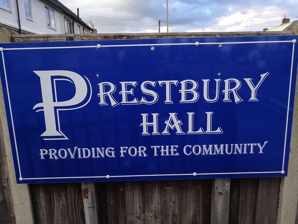 prestbury-hall-cheltenham-logo-sign
